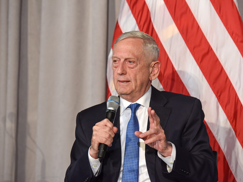 Mattis wishes troops 'Merry Christmas' ahead of departure