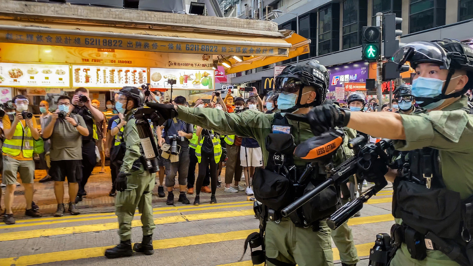 Hong Kong police arrest about 290 protesters